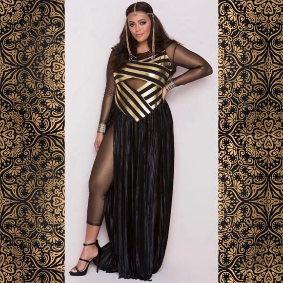 5dd21789f2fab Leg Avenue Dresses & Skirts - Egyptian Goddess Cleopatra Isis Plus Size  Costume